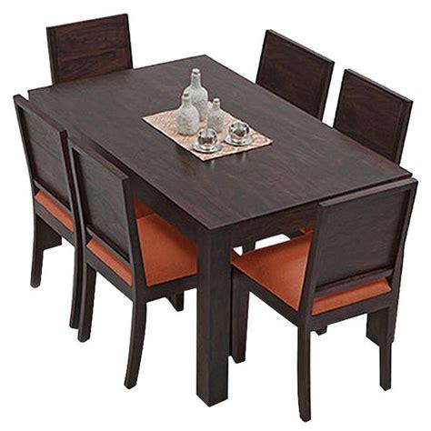 dining table set 6 seater ethnic india art vienna 6 seater sheesham wood dining set