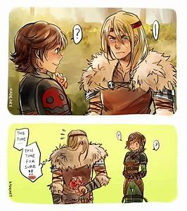 Astrid x Hiccup genderbent | How To Train Your Dragon ...