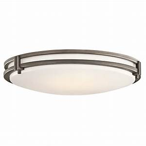 Kichler 10828oz flush mount ceiling fixture for Ceiling flush mount light fixtures
