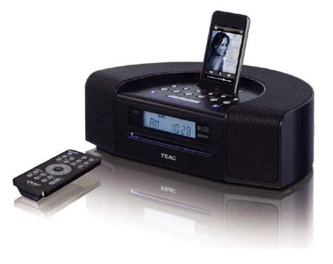 desk radio cd player amazon com teac sr l250ib hi fi table radio with ipod