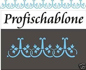 Schablonen Zur Wandgestaltung by Schablone Wandschablone Wandgestaltung R 246 Misch Antik Ebay