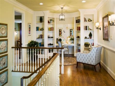 Second Home Decorating Ideas: Elegant Office Decor, Upstairs Landing Decorating Top