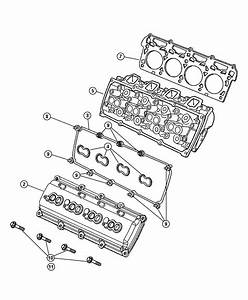 Chrysler 300 Gasket  Cylinder Head  Left  Right  Mega Cab