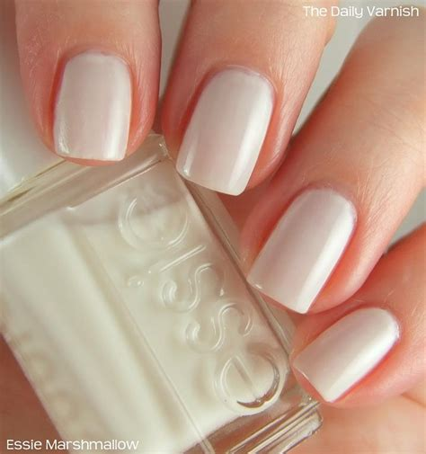 essie marshmallow daily varnish