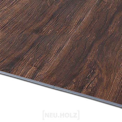 Neuholz® Click Vinyl Laminat 19,20m² Vinylboden Wenge Matt