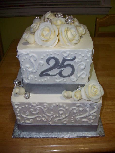 anniversary cake images cakes by p 25th anniversary cake