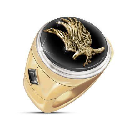 wings  majesty genuine black onyx stone  gold