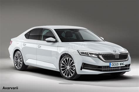 New 2019 Skoda Octavia Set For Coupe Look And