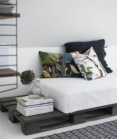 faire des coussins de canapé comment fabriquer un canapé en palette tuto et 60