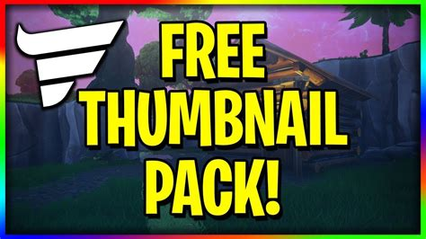 special  photoshop thumbnail pack fortnite