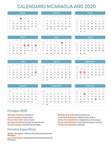 pin calendario hispano calendario feriados ano