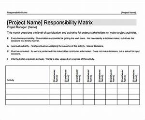 Raci Template Word 13 Work Breakdown Structure Samples Sample Templates
