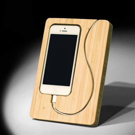 creative wooden iphone stands dremel projects diy