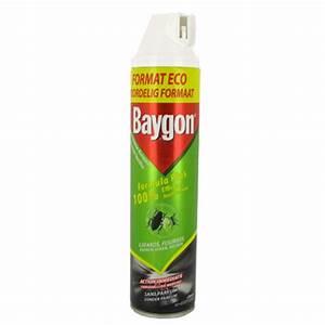 Produit Efficace Contre Les Cafards : anti rampants baygon desinfectant aerosol 600ml tous les ~ Dailycaller-alerts.com Idées de Décoration