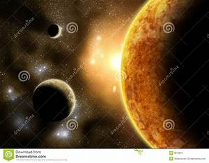 Outer Planets Stock Image - Image: 3813811