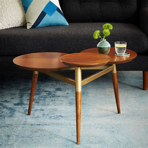 west elm end table 5 ways to use west elm 39 s clover coffee table front main