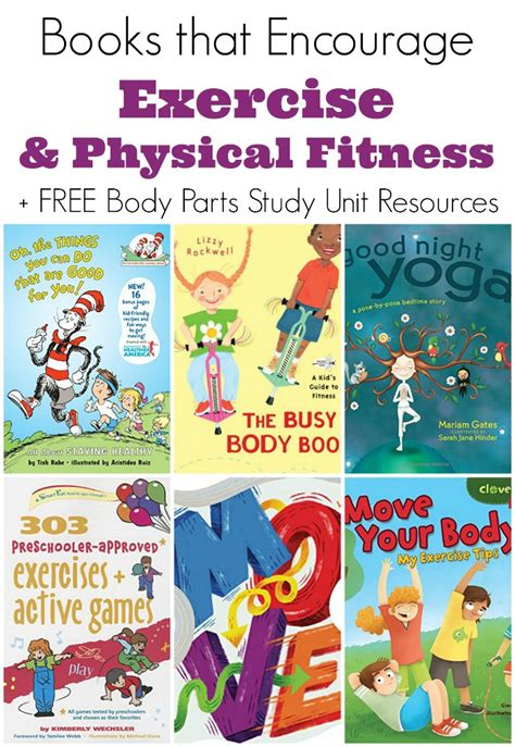 childrens books about exercise and physical fitness 865 | exercise pinterest