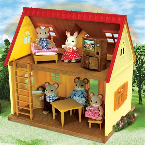 calico critters cozy cottage calico critters cozy cottage with norwood mouse family