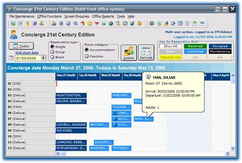hotel front desk system download hotel reservation template excel software