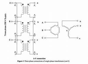 Solved  Three Phase Transformers Connections Questions 1