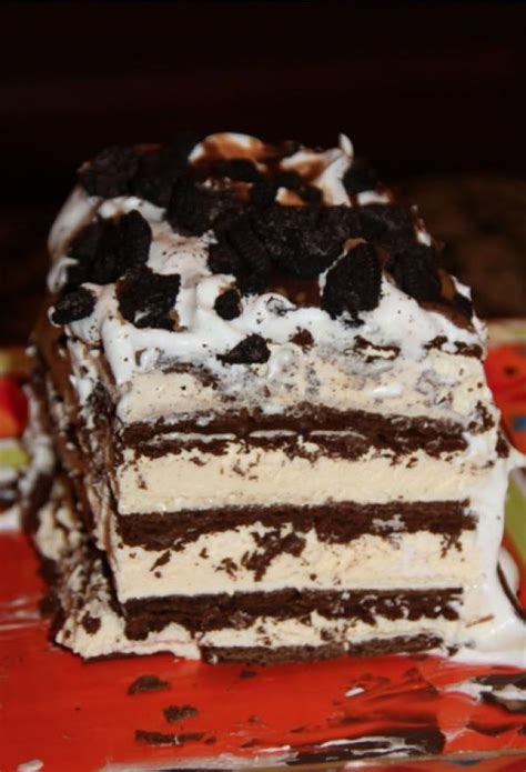 diy    ice cream cake