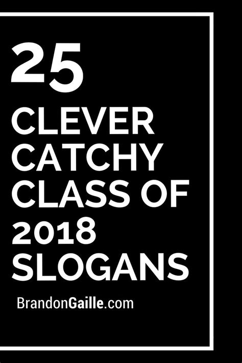clever catchy class   slogans class ring
