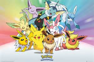Pokemon Eve Maxi Poster