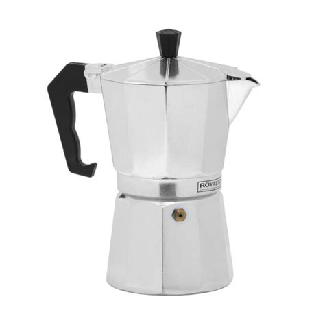 Extremely thick, you get weak and tasteless coffee. Royalford Italian Espresso Stove Top Coffee Maker ...