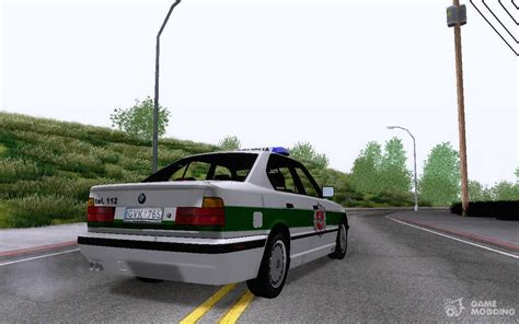 Mod Bmw S Gamemodding by Bmw E34 Policija Was For Gta San Andreas