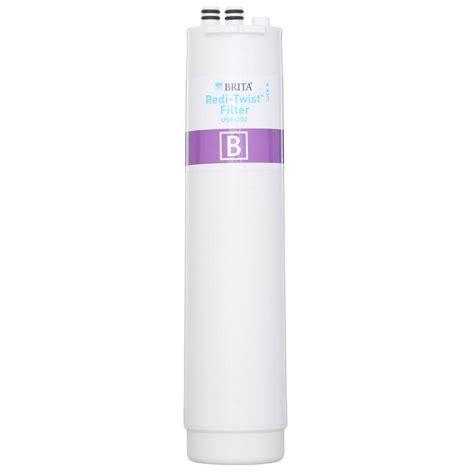Brita Sink Water Filter by Brita Redi Twist Sink Replacement Filter Wfusf202