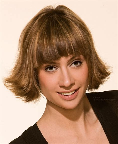 Flip Hairstyles by Flipped Bangs Hairstyles Fade Haircut