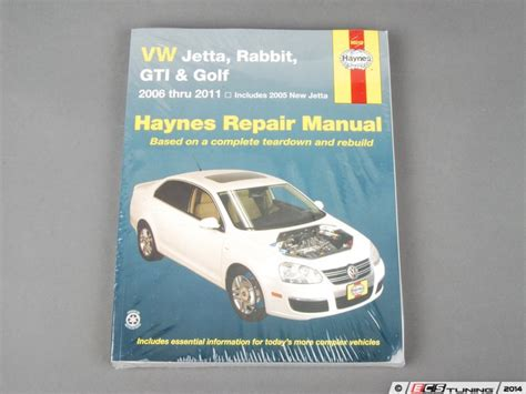 ecs news haynes repair manual vw mkv golfjetta tl