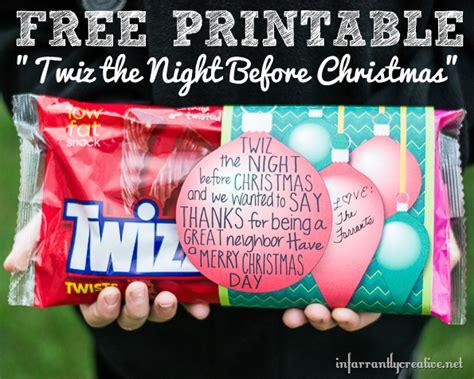 twiz  night  christmas  printable