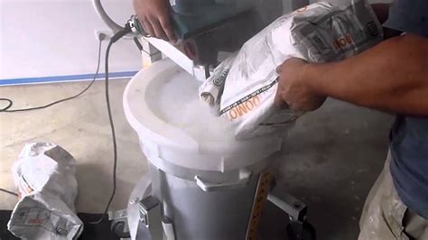 How to pour a ardex self leveling compound concrete floor