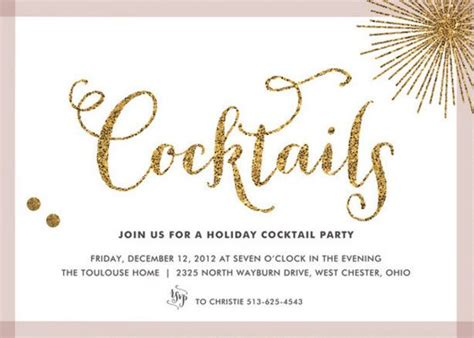 cocktail party invitation letter
