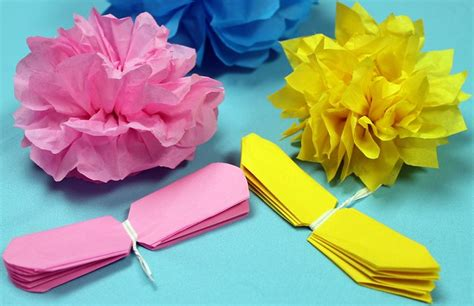 tissue paper flowers video flickr photo