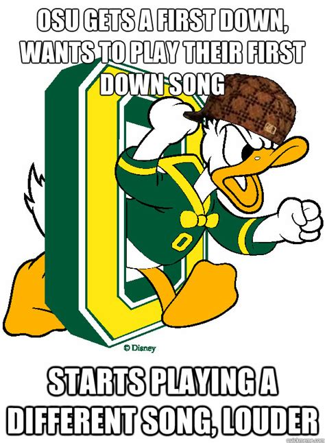 Oregon Ducks Meme - scumbag oregon ducks memes quickmeme