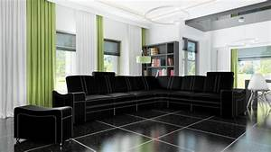 Eckcouch L Form : sofas und ledersofas franco designersofa ecksofa bei jv ~ Indierocktalk.com Haus und Dekorationen