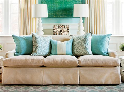 decorative pillow ideas for sofa how to arrange sofa pillows southern living