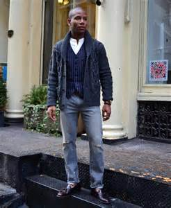 Men Wearing Loafers with Jeans