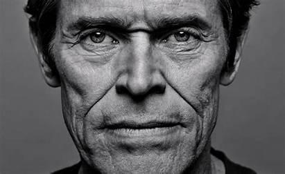 Portrait Willem Dafoe Face Ugly Famous Trent