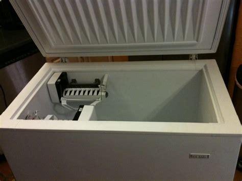 chest freezer ice maker  ideas  hull truth