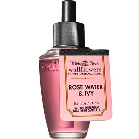 rose ivy wallflower water bath body works refill
