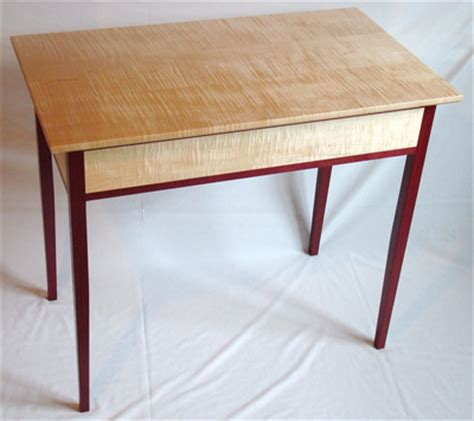 purple heart cherry  curly maple furniture rugged