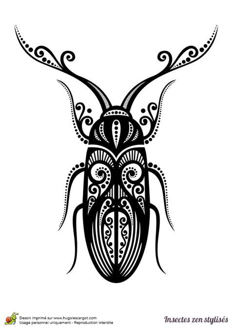 jeu de cuisine gateau dessin à colorier d 39 un scarabée stylisé hugolescargot com