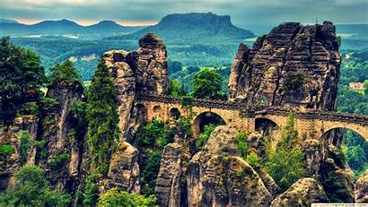 Europe Wallpapers Saxon Switzerland National Park Living