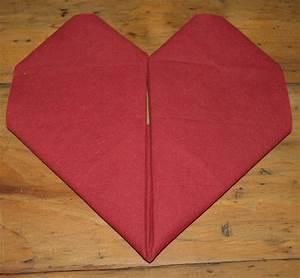 Pliage En Papier : pliage en papier r aliser un coeur en papier pliage de ~ Melissatoandfro.com Idées de Décoration