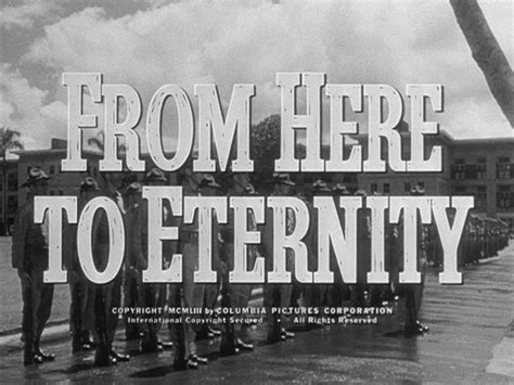 Shirt Tucked In: From Here To Eternity