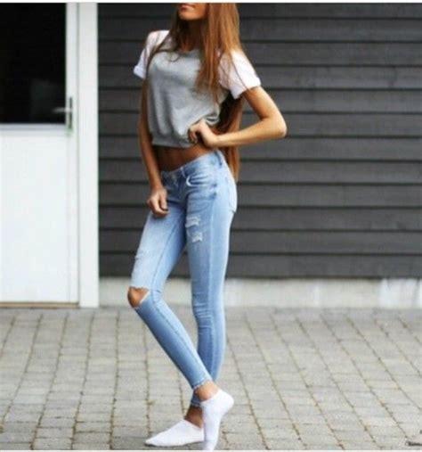 Jeans tumblr tumblr outfit tumblr girl tumblr clothes tumblr ...   Love!!   Pinterest ...