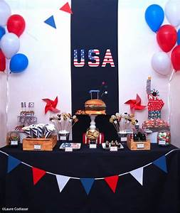 Decoration Pour Anniversaire : best 25 american party ideas on pinterest ~ Preciouscoupons.com Idées de Décoration